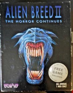 Alien Breed 2 (amiga) Par équipe 17+ Bonus Jeu Overdrive + Démo De Apache 4 Disque Total-afficher Le Titre D'origine