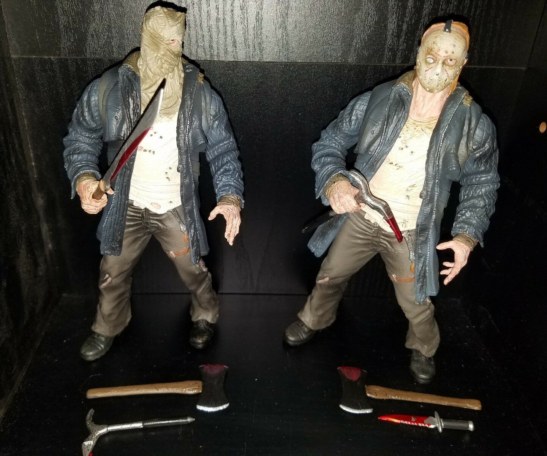 Mezco Cinema of Fear 2009 Jason voorhees remake horror exclusive loose figures