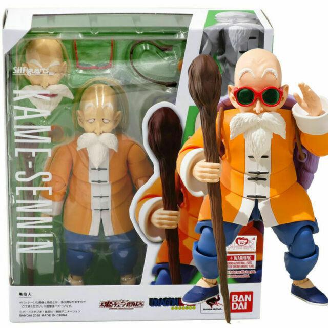 S.H.Figuarts Dragon Ball Z Master Roshi Kame Sennin DBZ Action PVC Figure No Box