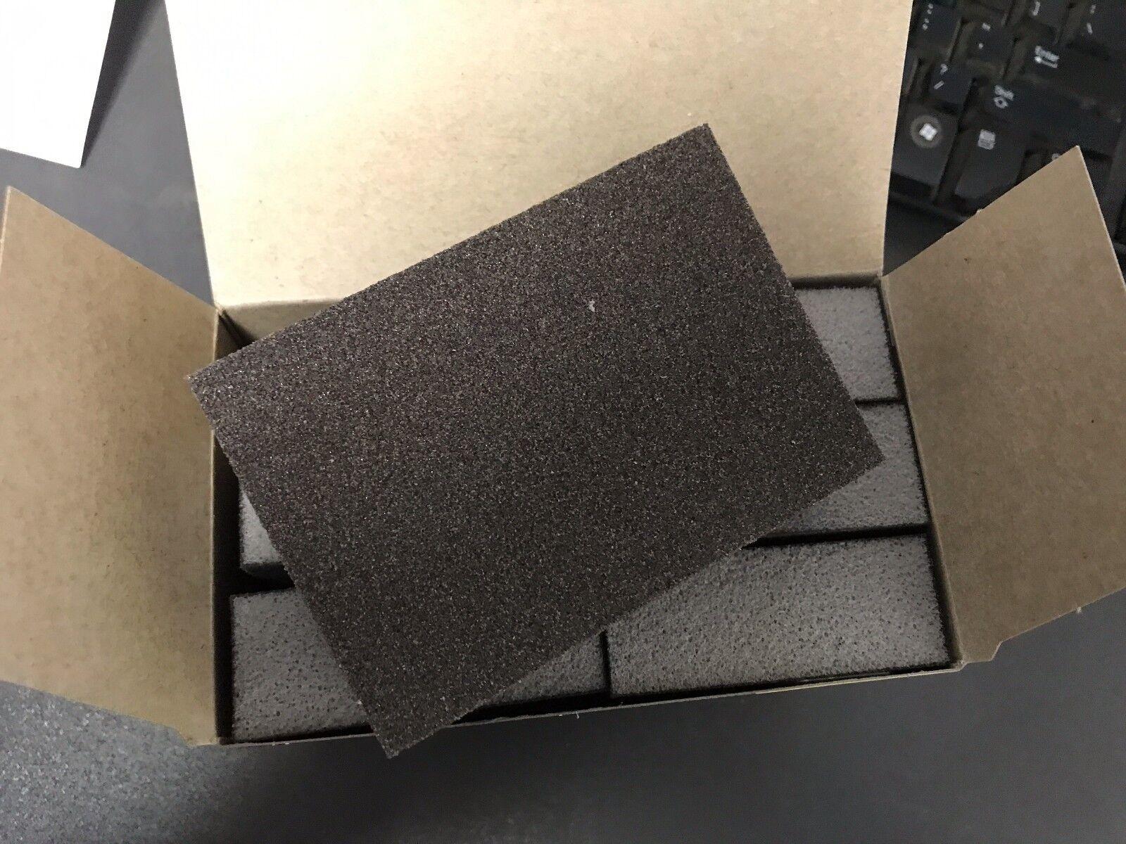144 Sponge Lot 24-6 PACKS 3M Sanding Sponge Medium Grit Pro Pak BLOWOUT!
