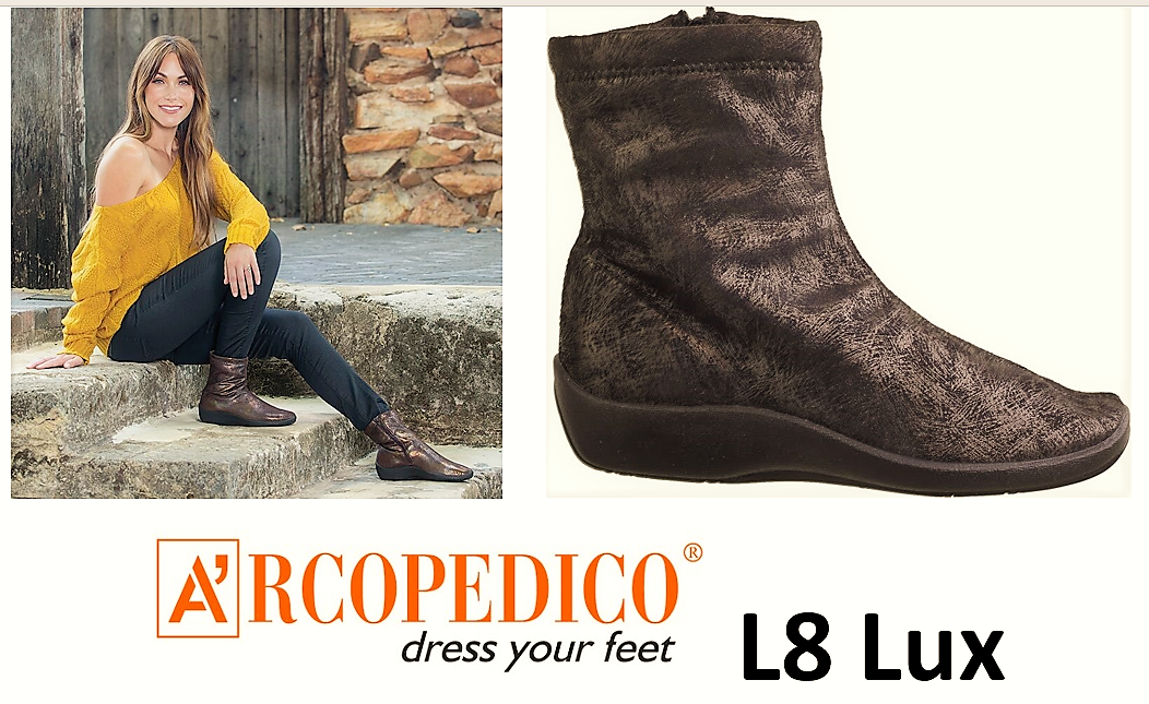 Arcopedico shoes Portugal L8 Lux comfort Lytech ankle boots