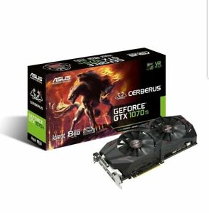 ASUS GeForce GTX 1070 TI Cerberus 8GB Gaming Graphics Card
