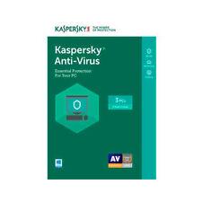 Kaspersky Anti-Virus 2017 KAV for 3 Device 1-Year Protection