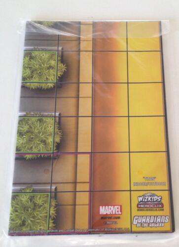 Heroclix Guardians of the Galaxy set OP Kit 2-Sided Map Titan Star-Lord Ship