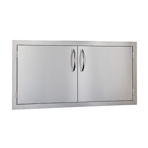 STG-Excalibur-Premium-42-034-Stainless-Steel-Double-Access-Doors-Model-STGDD42