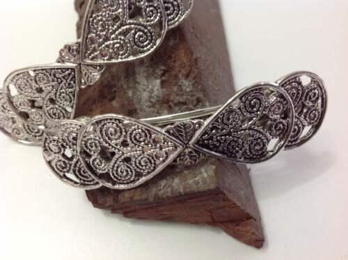 Noble metal perchero en zieselierter óptica trabajado-ring-ornament-fácil