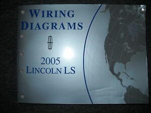 image is loading 2005-ford-lincoln-ls-electrical-wiring-diagram-service-
