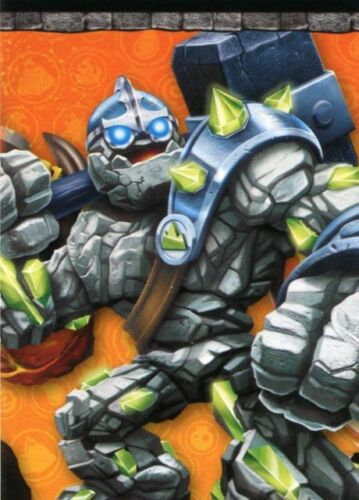 Skylanders Giants Trading Cards Individual puzzle cards a1 to a9
