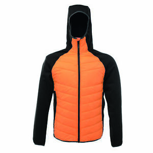 Regatta-Deerpark-Andreson-Mens-Insulated-Hooded-Hybrid-Jacket-Orange-RRP-60