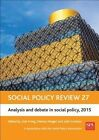 Social Policy Review: Analysis and Debate in Social Policy: 2015 by Policy Press (Hardback, 2015)