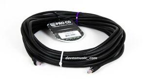 NEW-PROCO-50-039-DURACAT-50-RJ45-RJ45-CAT6-UTP-CAT5-Digital-Snake-For-Stagebox
