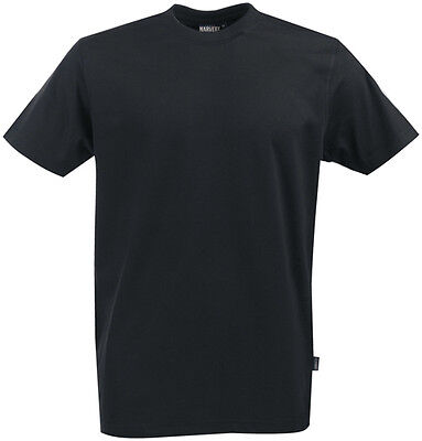 AMERICAN | James Harvest | Men's Plain Blank T-Shirt | Black White | Pack of 5
