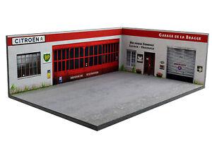 Diorama-Garage-Citroen-Garage-de-la-Brague-1-43eme-43-3-D-H-R-010