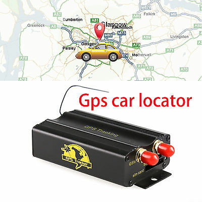 Tk103A Car Tracking Device System GPS/SMS/GPRS Tracker Locator Vehicle NEW fx/