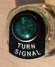 Land Rover Series 2 2a 3 LED Illuminated Indicator Turn Warning Tag Light Chrome