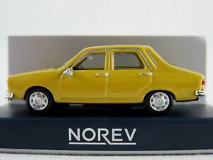 Norev-511257-Renault-12-Limousine-1974-in-lemon-yellow-1-87-H0-NEU-OVP