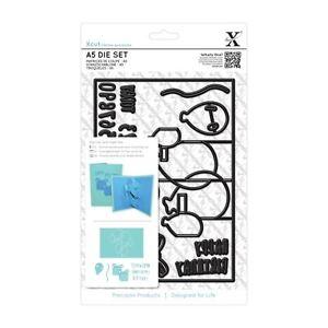 SALE-Xcut-Docrafts-Universal-A5-Die-Set-17pcs-Pop-Up-Card-Birthday