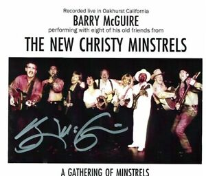 BARRY-MCGUIRE-039-S-STORE-NEW-CHRISTY-MINSTRELS-LIVE-1994-NEW-SIGNED-BY-BARRY