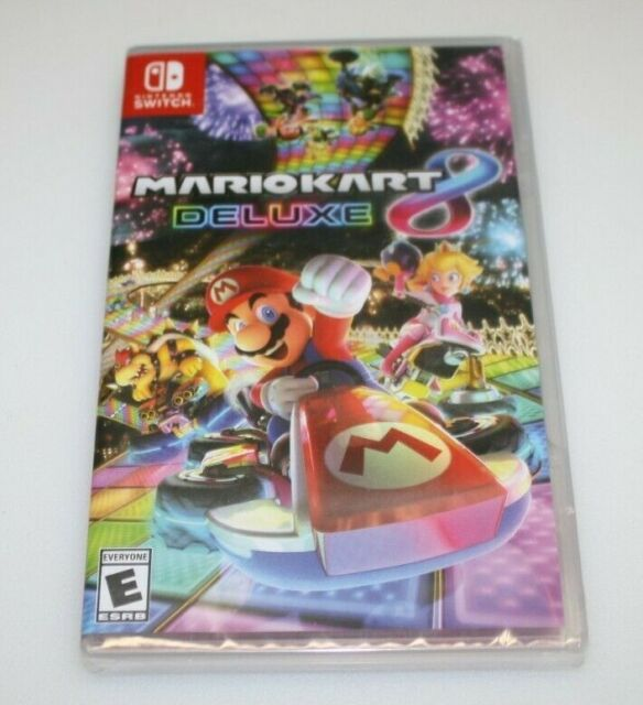New Factory Sealed Nintendo Switch Mario Kart 8 Deluxe Game