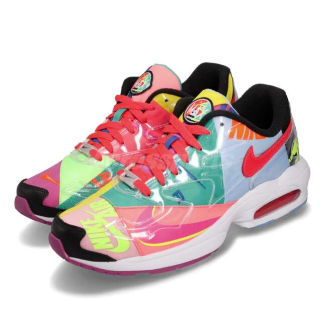 d4dca158f978f Nike Air Max2 Light QS Atmos Logos Men Running Lifestyle Shoe Sneaker  BV7406-001