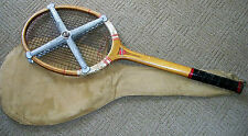 Vintage Special Tennis Racket complete with Spalding bag and zephyr press.