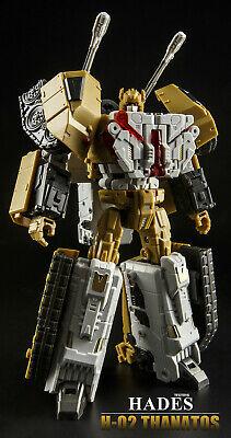 Transformers TFC Jouet Hadès liokaiser H-02 Thanatos en Stock