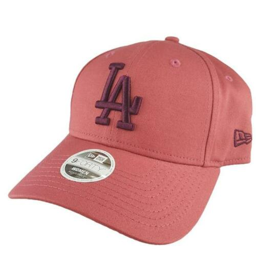 Ladies LA Dodgers New Era MLB m 9Forty Hat Baseball Cap In Salmon