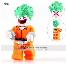 Joker Arkham BATMAN MOVIE Custom minifigura si adatta LEGO-venditore affidabile UK