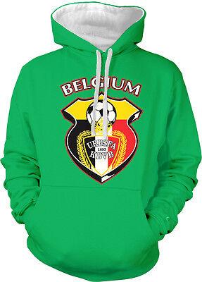 Belgium Badge Crest Belgian Flag Colors Soccer BEL BE Two ...