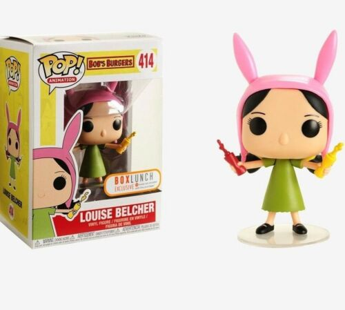 Louise Belcher WITH SAUCES #414 Bob's Burgers *LIMITED EXCLUSIVE* Funko POP