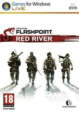 NEW! Operation Flashpoint Red River for PC XP/VISTA/7 SEALED NEW