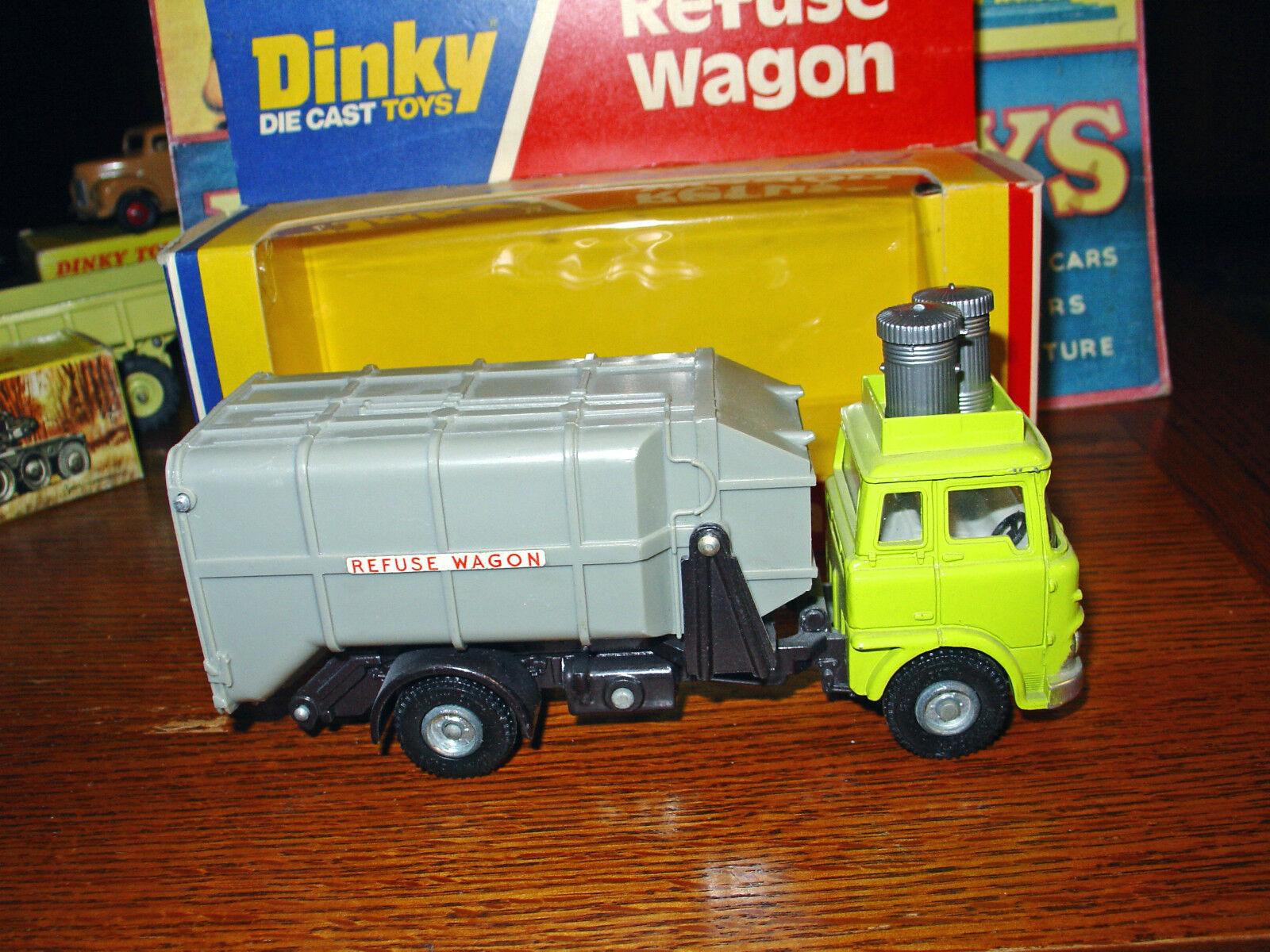 Dinky  978 Bedford Refuse Wagon - MIB