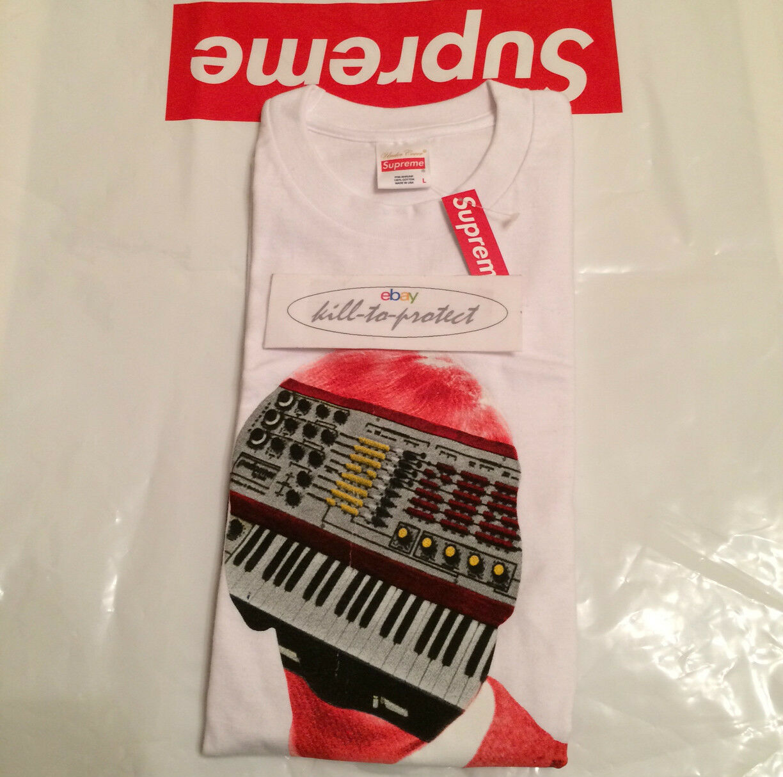 Supreme X Undercover synhead Tee Bianco taglia taglia taglia M L XL T-Shirt Logo di CDG 20th 2015 2214c1