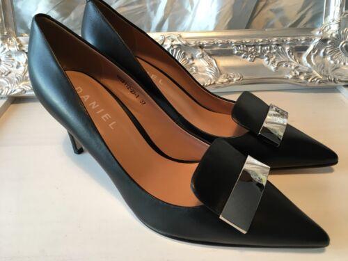 Daniel Chaussures Elemis cuir noir Escarpins Taille 37 UK 4