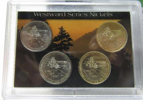 2-Westward Journey Nickel Series Sets 2005 American bison /& Louisiana Purchase