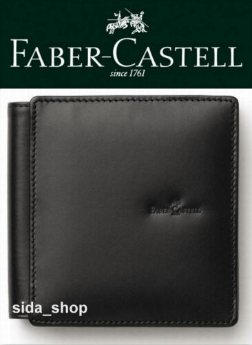 Faber-Castell Design Notizblock Etui edles Leder schwarz UVP 65€ *!bestprice!*