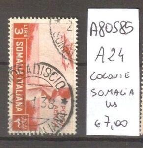FRANCOBOLLI-COLONIE-SOMALIA-USATI-N-A24-A80585