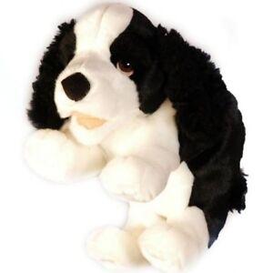 Living Puppets Peluche Noir/Blanc chien nouveau  </span>