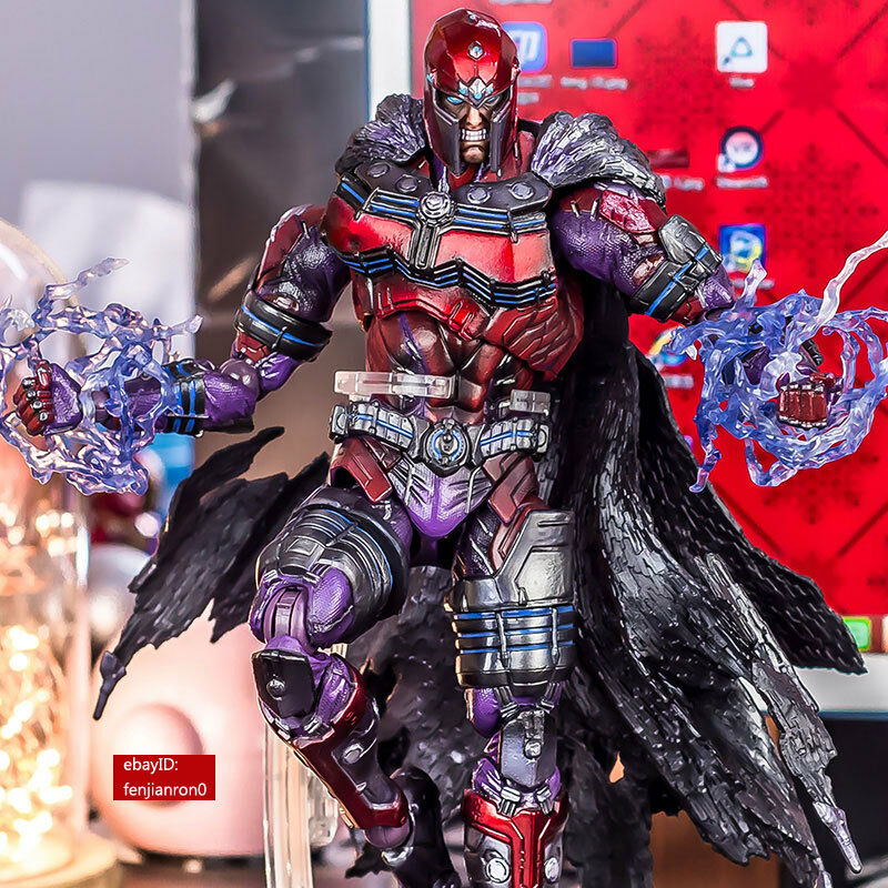 X-Men Variant Play Arts Kai Magneto PVC Action Figure Collectible Collectible Collectible Model Toy NIB 6a2d99