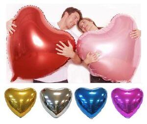 32 inch Heart Love Shape Foil Balloons HELIUM//AIR BALLOON Birthday WEDDING party