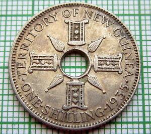 NEW-GUINEA-BRITISH-COLONIAL-GEORGE-V-1935-SHILLING-SILVER