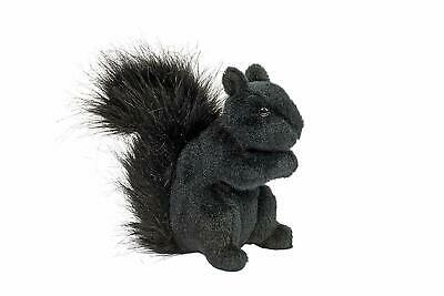 "Douglas Hi-Wire 6/"" Black Squirrel Plush Stuffed Animal"
