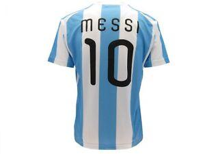 b6dde1c1233dd La imagen se está cargando Camiseta-de-futbol-Messi-Argentina-Leo-Messi -Producto-