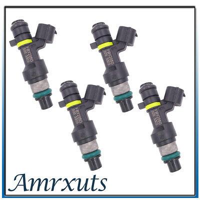 4X Genuine Jecs Fuel Injectors for 07-10 Nissan Sentra Versa 09-10 Cube 1.8 2.0L