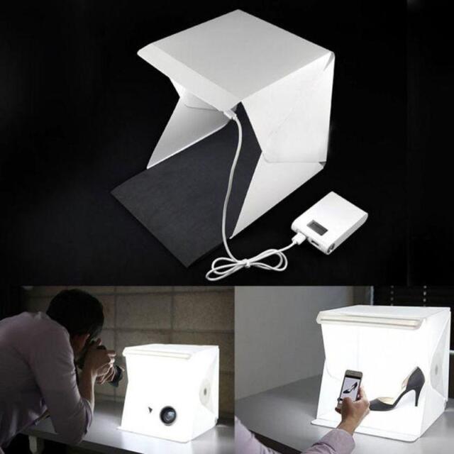 Photo Studio Light Box Photography Backdrop LED Mini Lightroom Portable Light GL