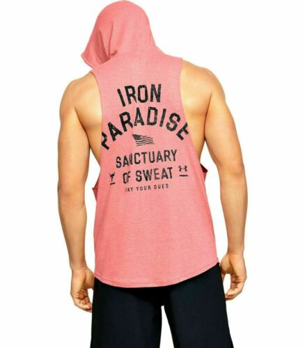 UNDER ARMOUR Mens Project Rock Sleeveless workout tank training CHOOSE COLOR