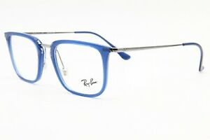 NEW RAY-BAN RB7141 5752 BLUE AUTHENTIC EYEGLASSES FRAME RB 7141 50-20