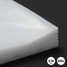 200 LP Cover Schutzhüllen 12, Typ 100, für Vinyl Schallplatten, transparent