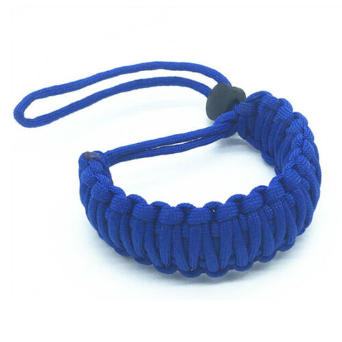 Strong camera adjustable wrist lanyard strap ^grip weave cord for para cord HI