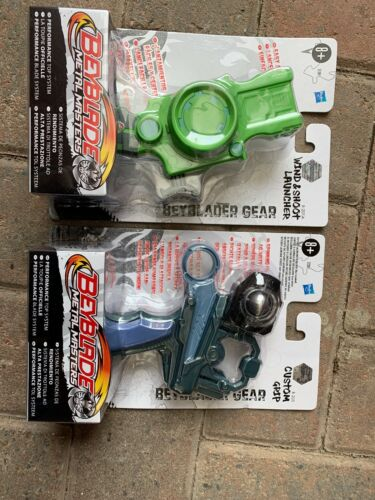 Beyblade Metal Masters Beyblader Gear Custom Grip B-205 Hasbro /& B-201A Launch